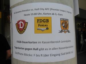 Dynamo Dresden vs Hull City