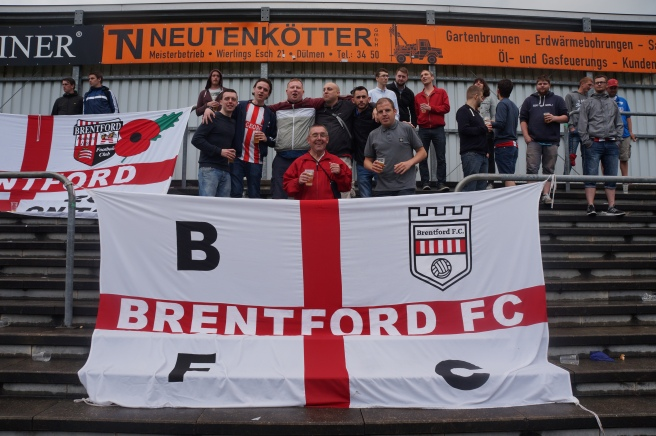Brentford Fans in Germany