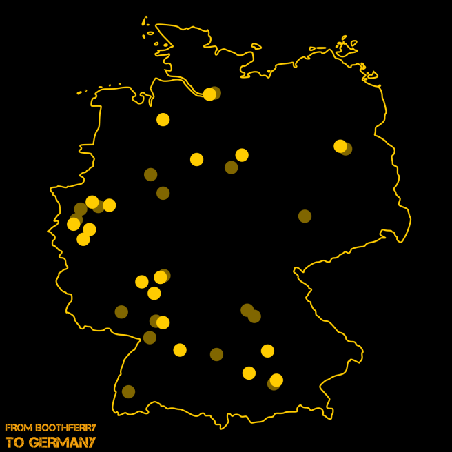 Bundesliga Cities
