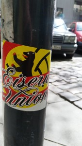 Union Berlin sticker