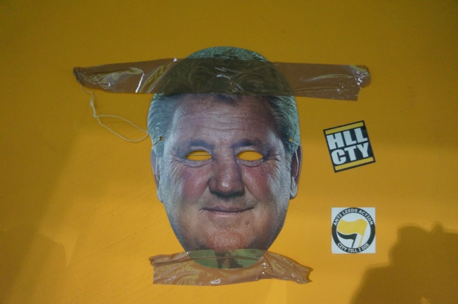 Steve Bruce Black and Amber Army
