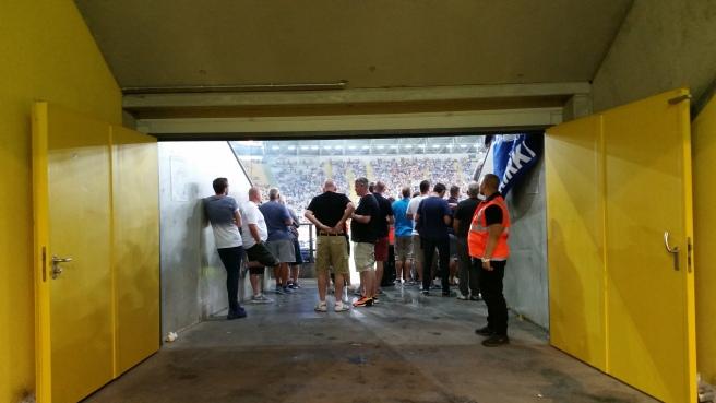 Everton Fans Dresden