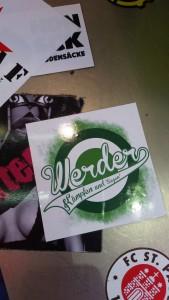 Werder Bremen Aufkleber
