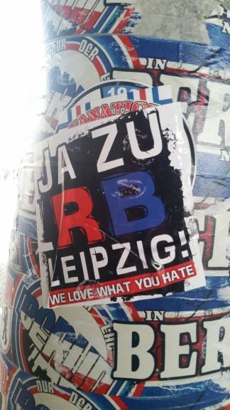 RB Leipzig Aufkleber