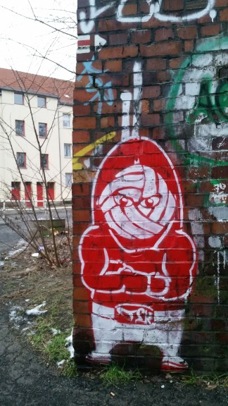 Union Berlin graffiti