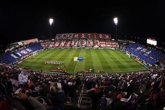 USA tifo Costa Rica