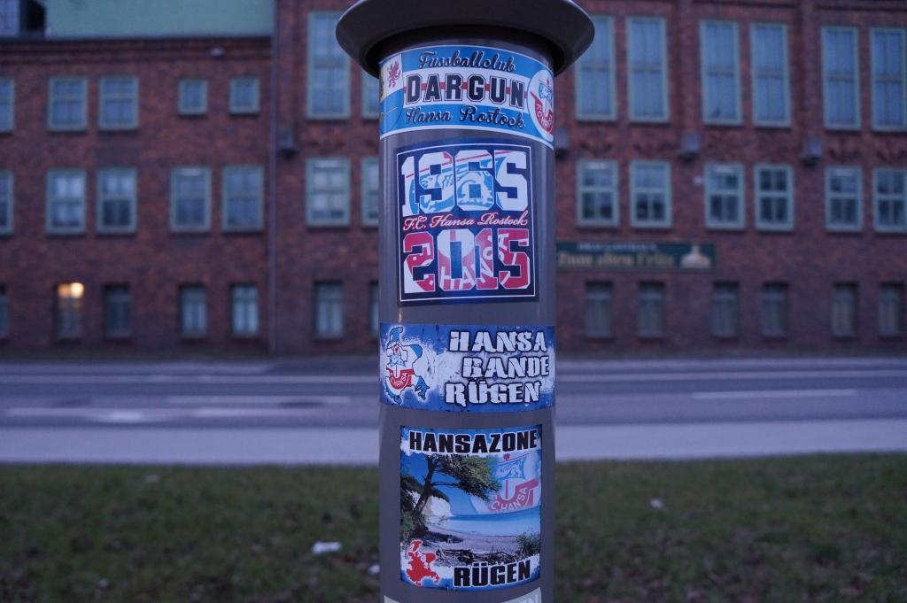 Hansa Rostock aufkleber