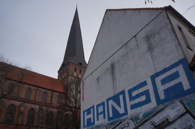 Rostock Fans Graffiti