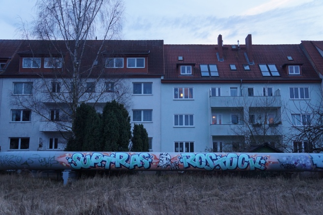 Rostock Ultras Graffiti
