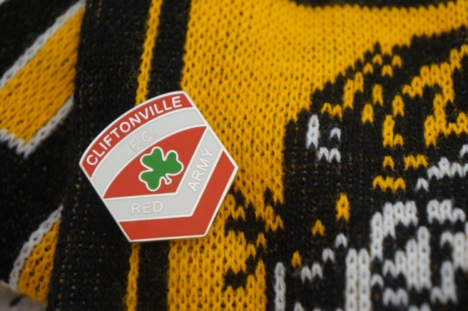 Cliftonville FC Pin Badge
