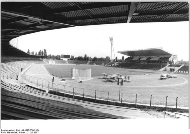 Friedrich Ludwig Jahn Sportpark black and white