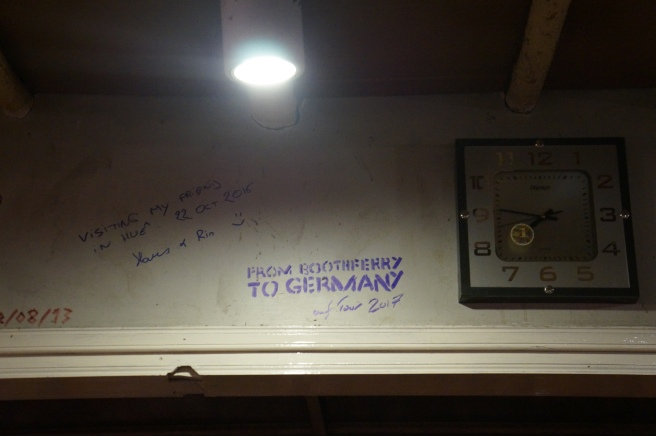 From Boothferry To Germany auf Tour