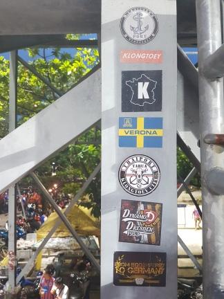 Klongtoey Army sticker