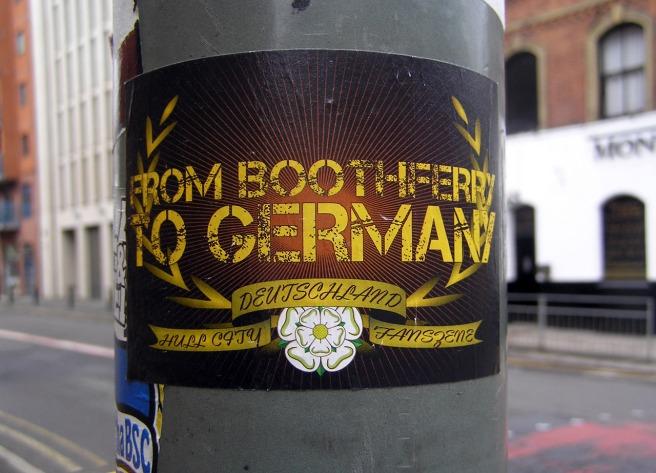 Sticker Conspiracy Hull City