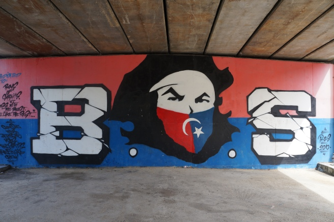 Boys of Straits graffiti