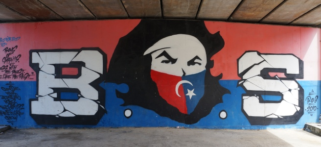 Boys of Straits graffiti