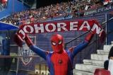 Football Spiderman
