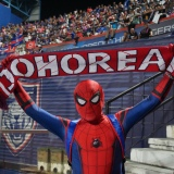 Football Spiderman