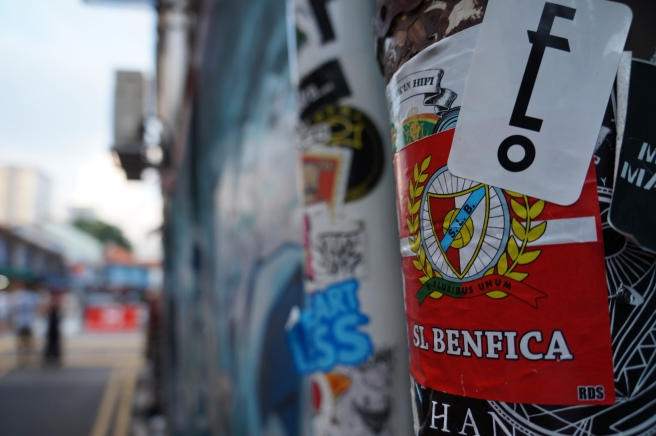 Benfica fan sticker