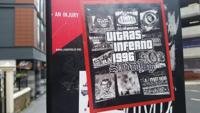 Ultras Standard Liege sticker