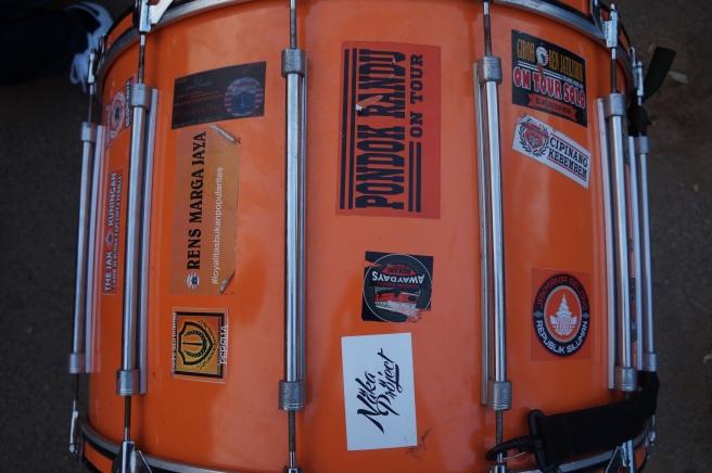 Football drummer