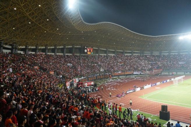 Football fans asia