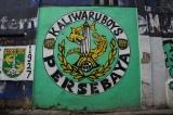 Graffiti persebaya fans