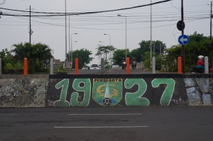Graffiti Persebaya Surabaya
