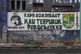 Persebaya fans graffiti