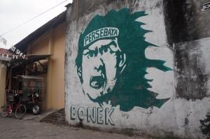 Persebaya Surabaya graffiti