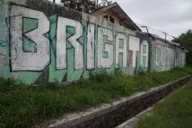 Brigata Curva Sud graffiti