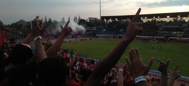 Persija fans Persib