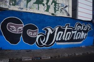 PSIM Yogjakarta graffiti