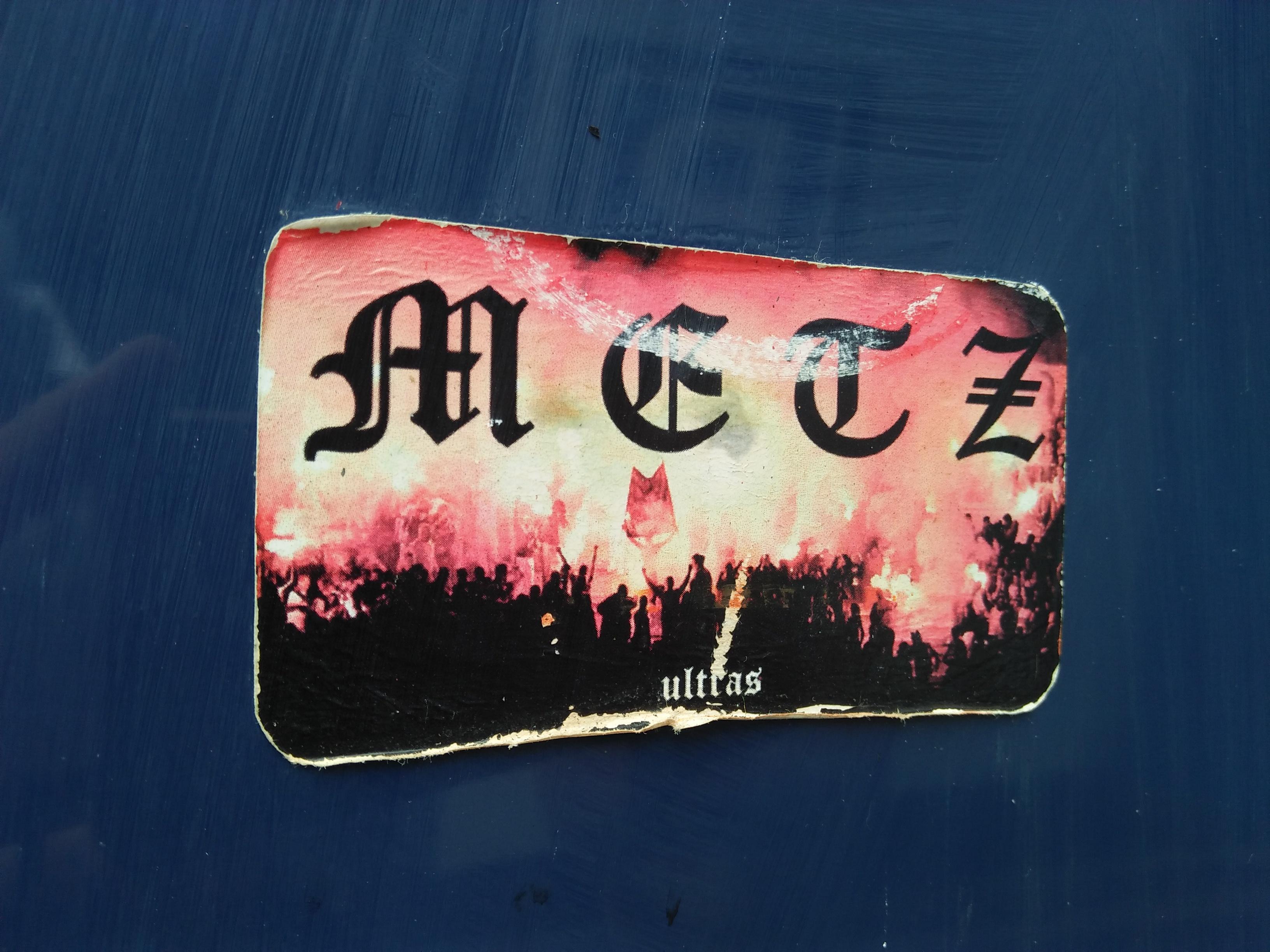 Metz sticker
