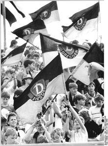 Fan flag Dynamo Dresden