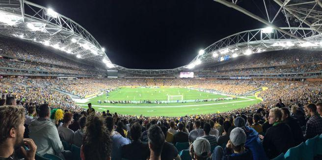 Football fans Socceroos