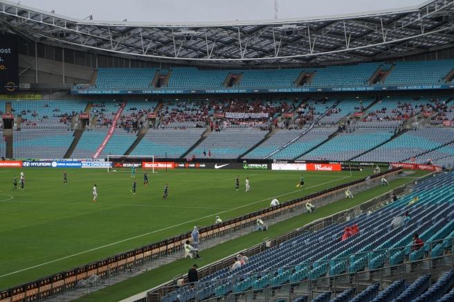 Western Sydney Wanderers Football fans