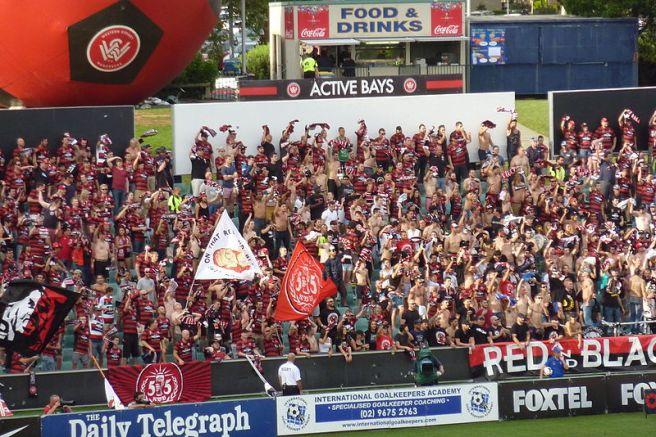 Western Sydney Wanderers Home Fans
