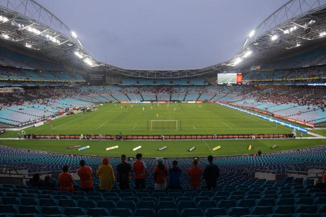 Brisbane Roar away fans