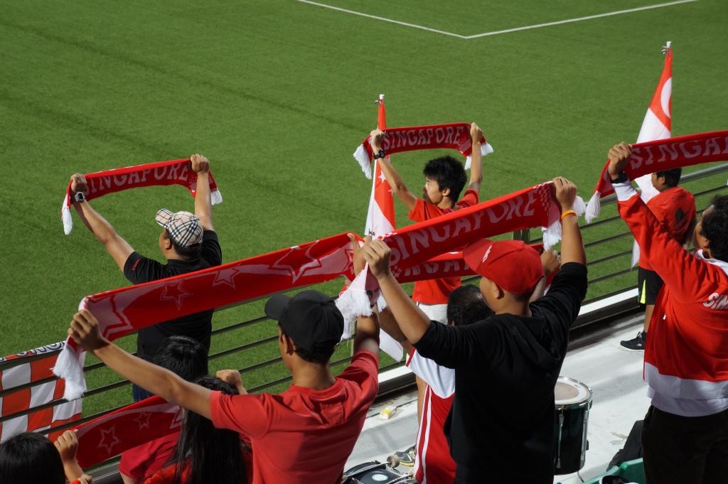 Football fans Singapore