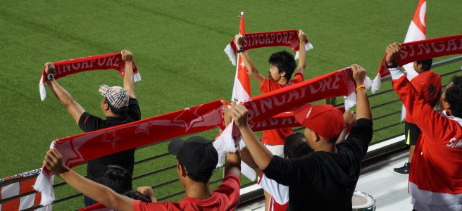 Football fans Singapore