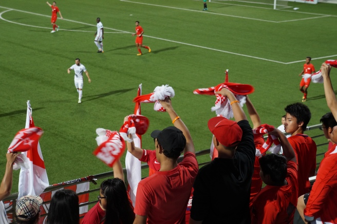 Singapore Football fans