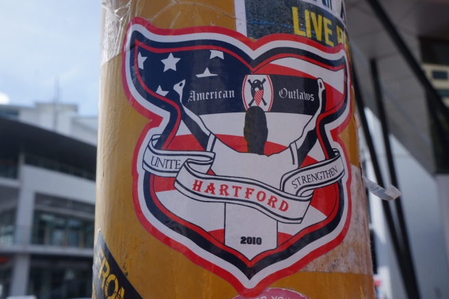 American Outlaws sticker