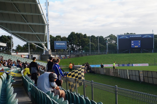 Team Wellington away fans