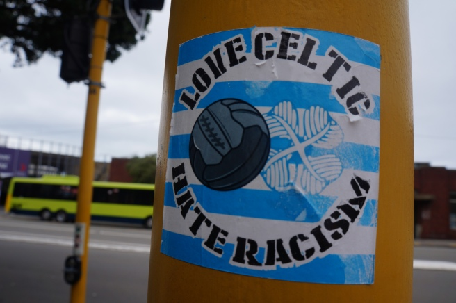 Love Celtic Hate Racism