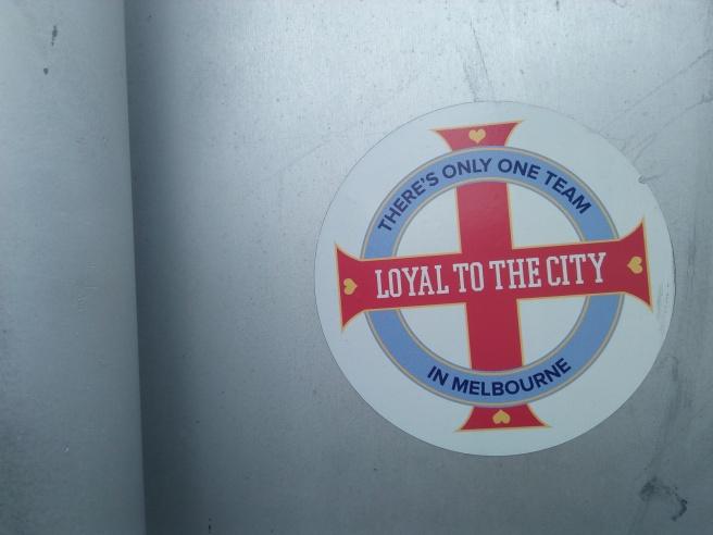 Melbourne City sticker