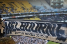 Melbourne Victory Football fans