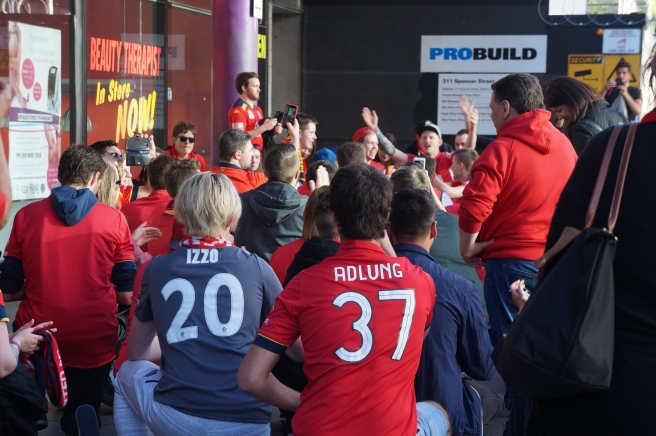 Adelaide United away fans
