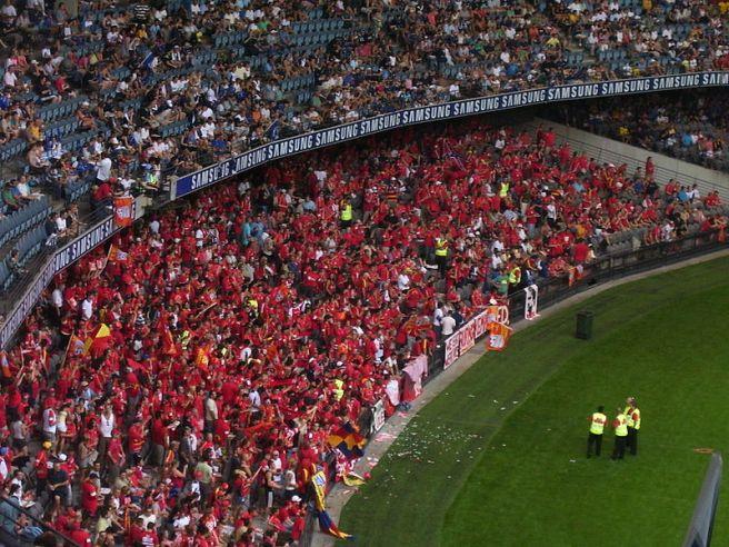 Adelaide United fans