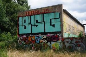 Chemie Leipzig graffiti